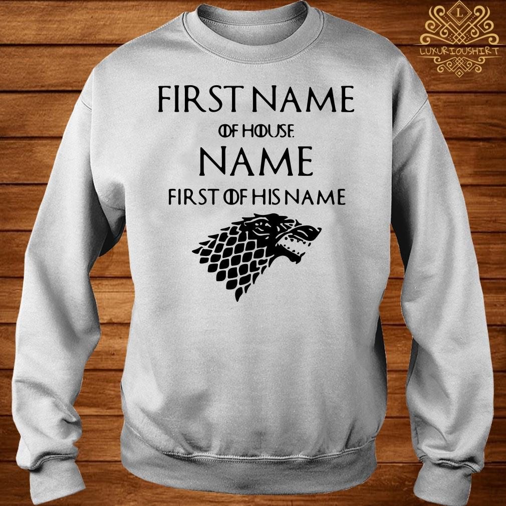 Game of Thrones Jacob of house Williams first of his name sweater