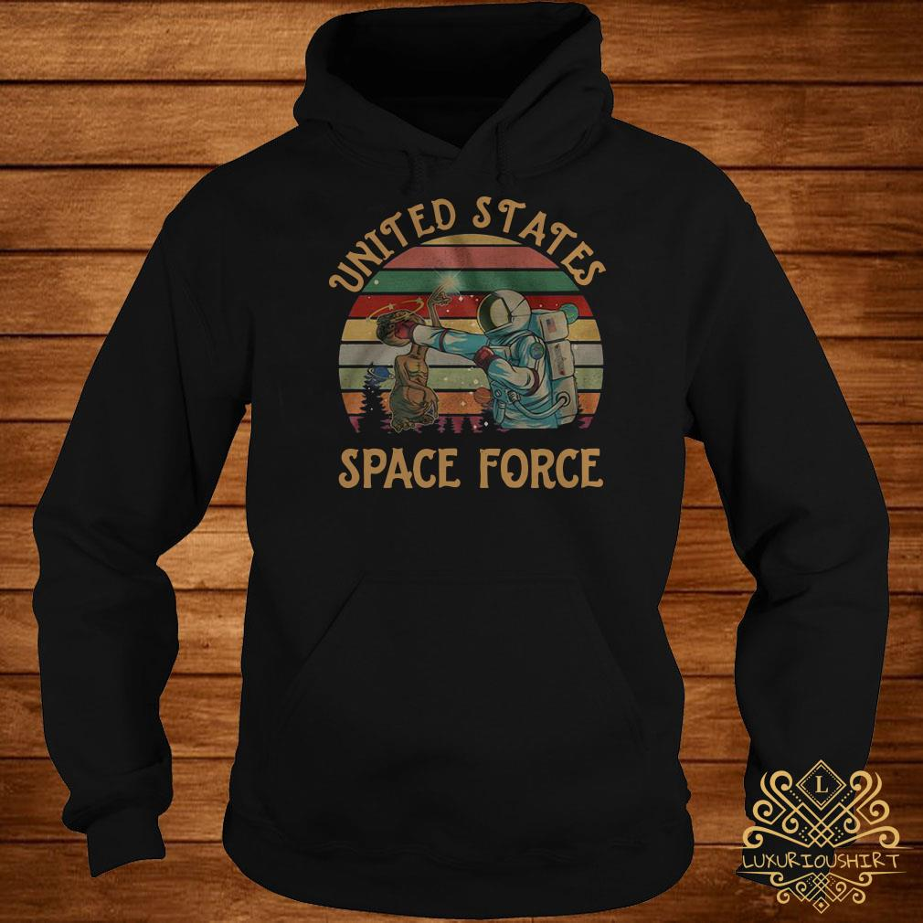 United States space force sunset hoodie