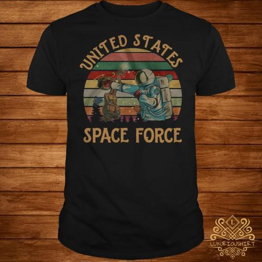 United States space force sunset shirt