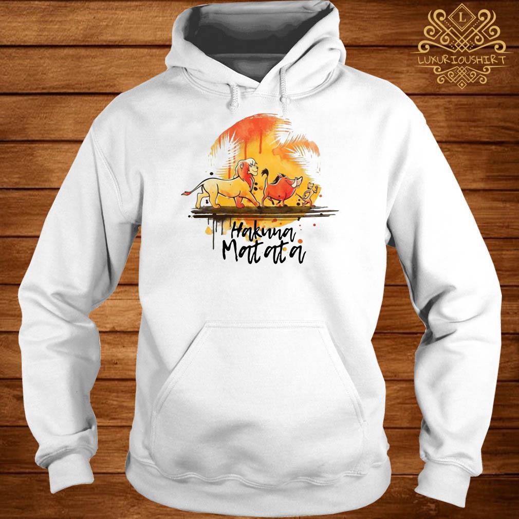 Hakuna Matata The Lion King Simba Pumbaa Timon hoodie