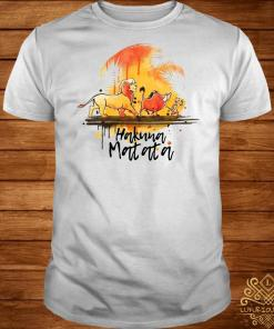 Hakuna Matata The Lion King Simba Pumbaa Timon shirt