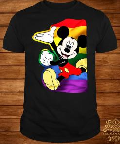 LGBT Mickey Mouse sweater