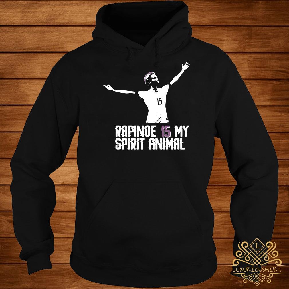 Megan Rapinoe 15 my spirit animal hoodie