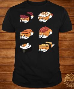 Shiba Inu Japanese Sushi 50 Shades of dog shirt