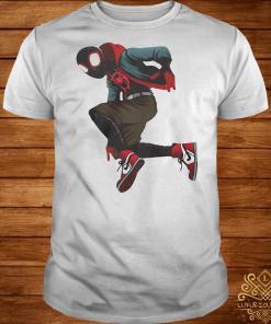 Spider-Verse Miles Morales shirt