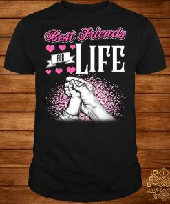 Grandma and daughter best friends for life shirt