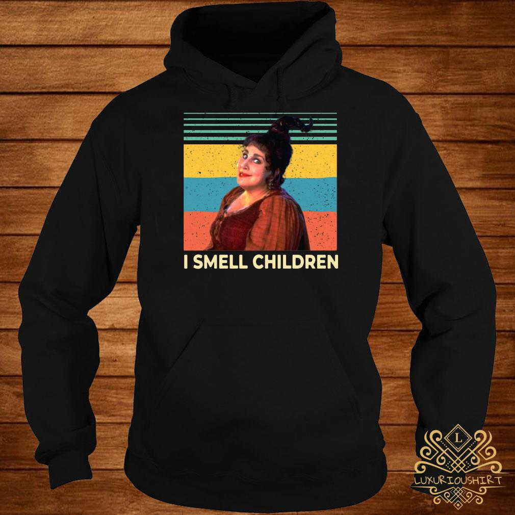 Hocus Pocus Witches I smell children vintage hoodie