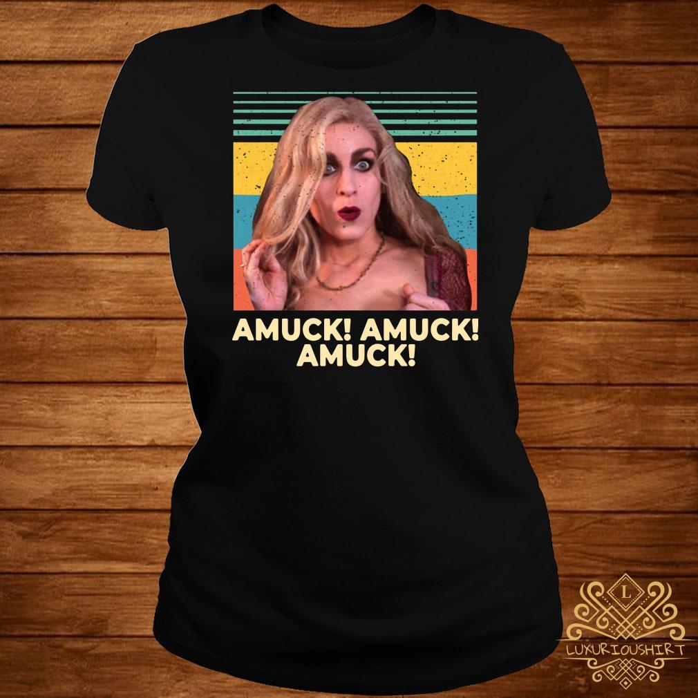 Sarah Sanderson Amuck Amuck Amuck Vintage ladies tee