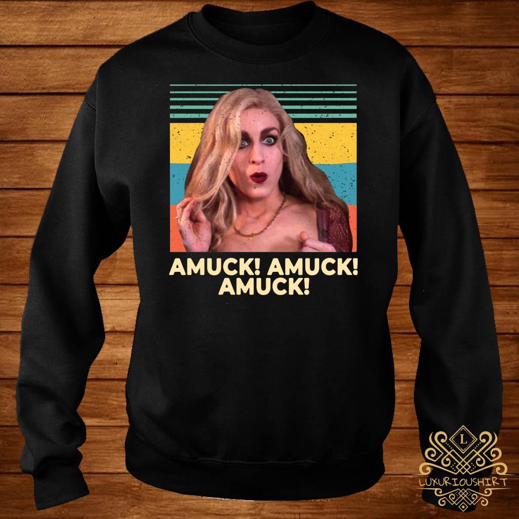 Sarah Sanderson Amuck Amuck Amuck Vintage sweater