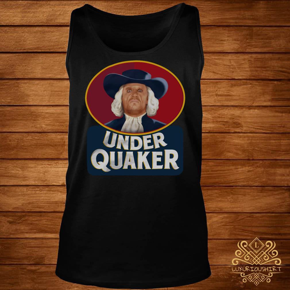 Under Quaker tank-top