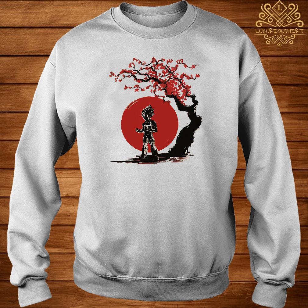 Vegeta cherry blossom sweater