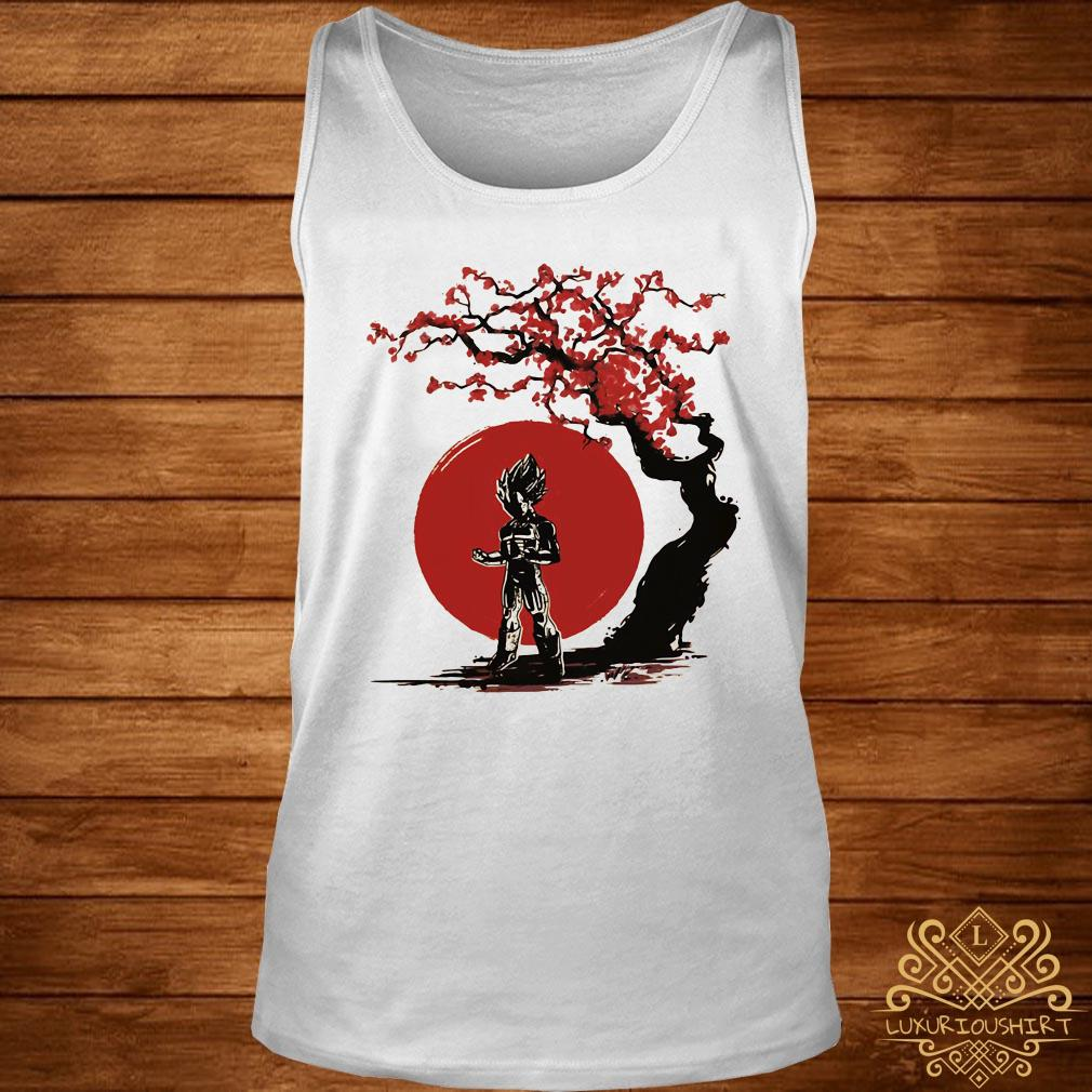 Vegeta cherry blossom tank-top