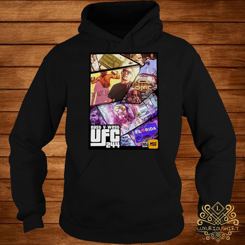 East And West UFC 244 Florida Nate Diaz And Jorge Masvidal Welterweights hoodie