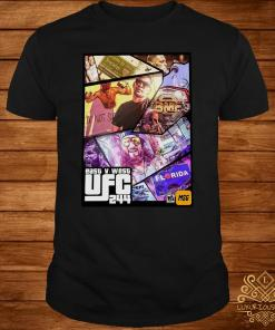 East And West UFC 244 Florida Nate Diaz And Jorge Masvidal Welterweights Shirt
