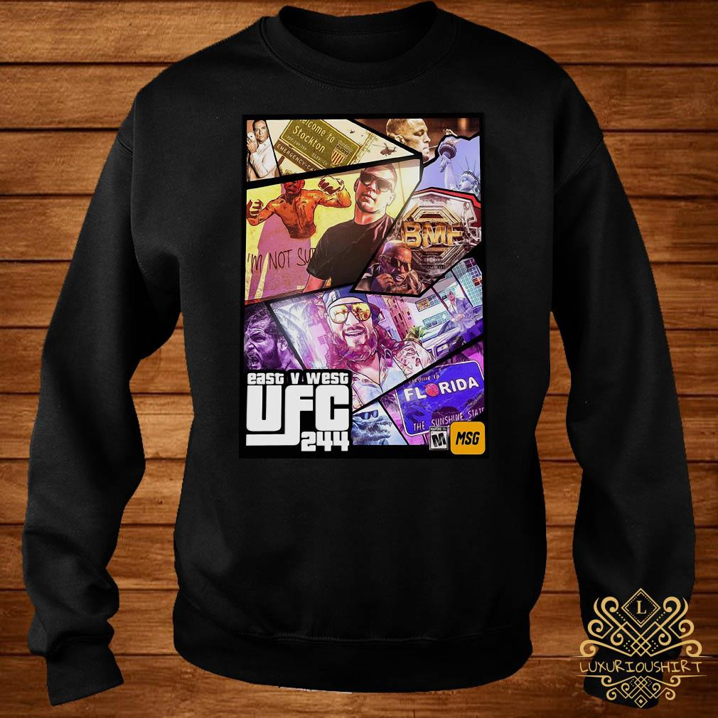 East And West UFC 244 Florida Nate Diaz And Jorge Masvidal Welterweights sweater
