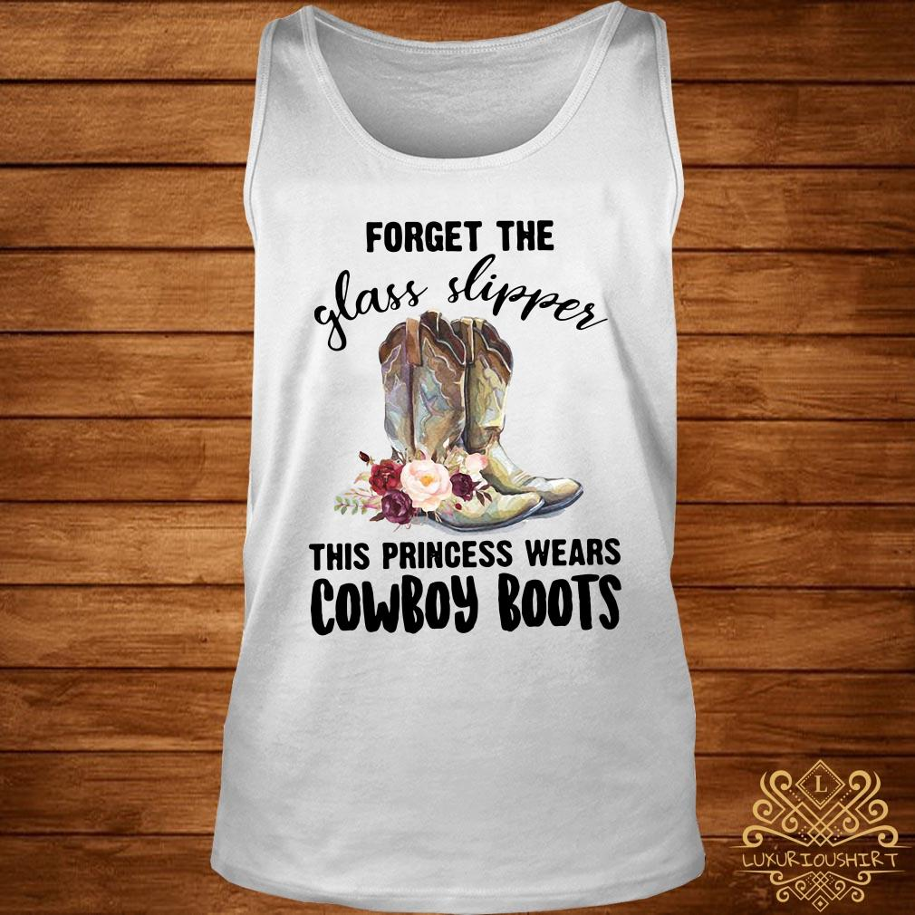 Forget the glass slipper this princess wears cowboy boot tank-top