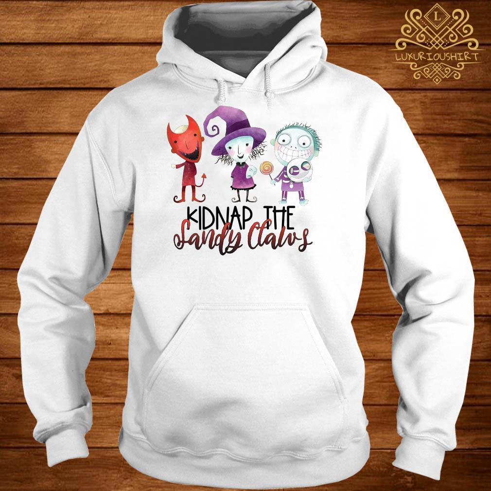Halloween Kidnap the Sandy Claws hoodie