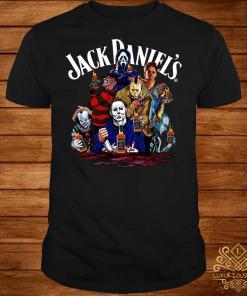 Horror character Jack Daniels whiskey shirt