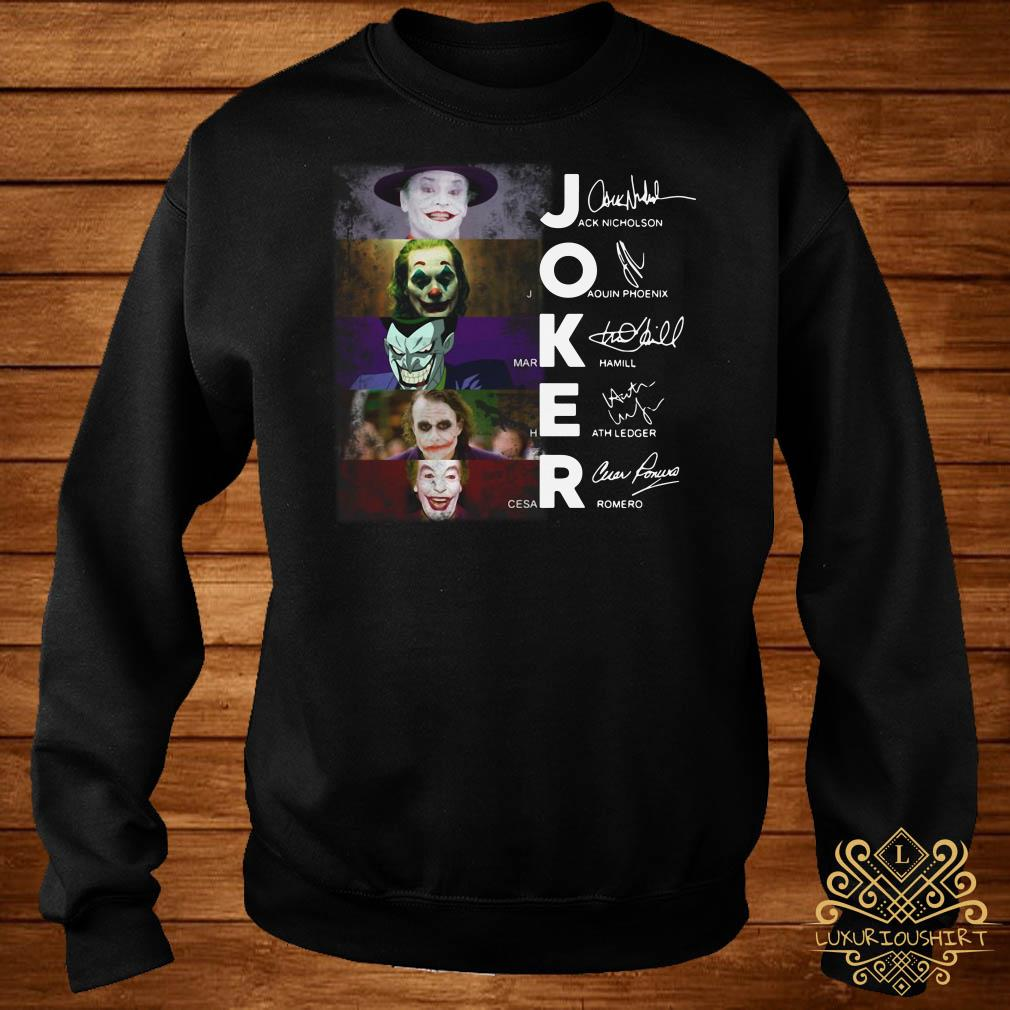 Joker All Version signature sweater
