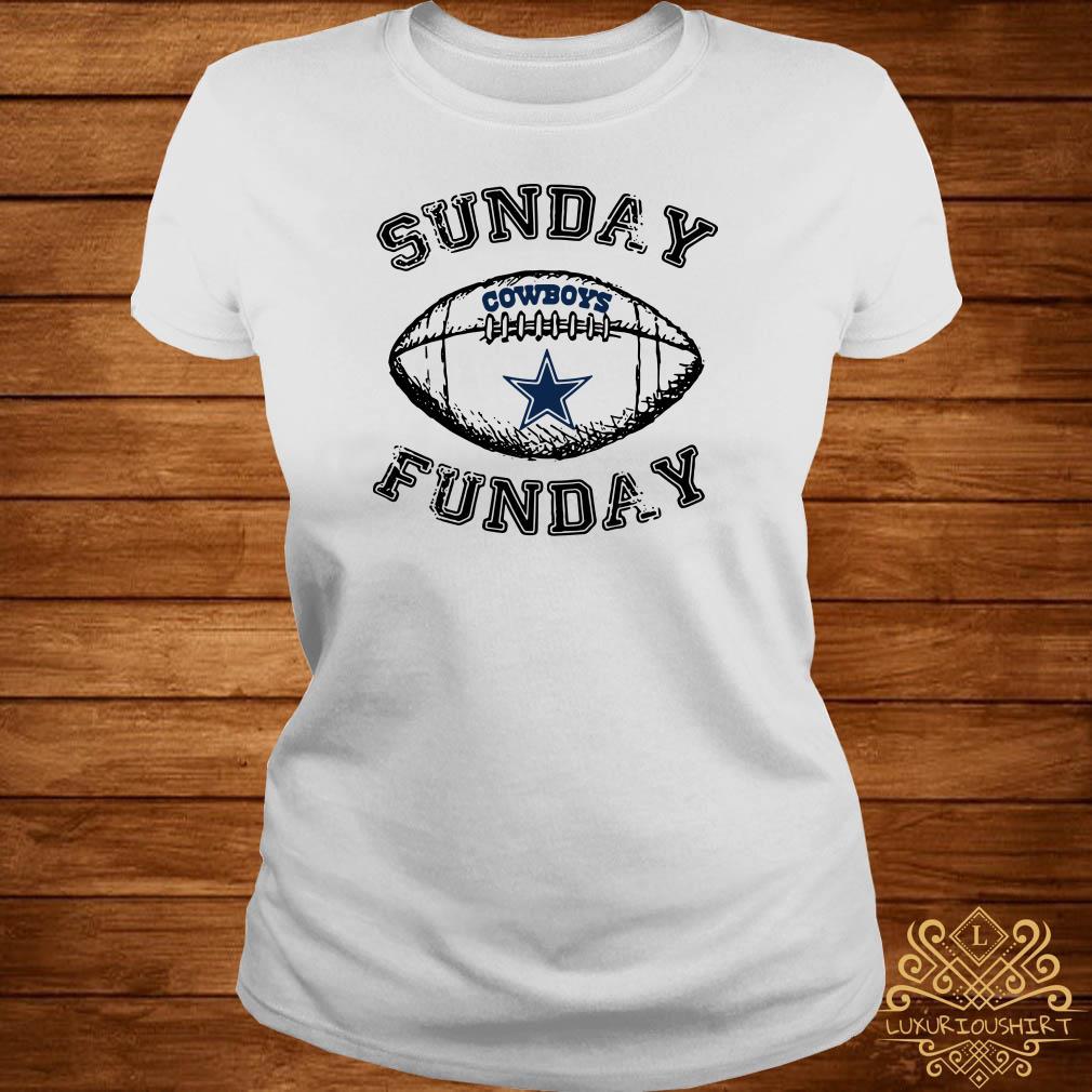 Dallas Cowboy Sunday Funday Ladies Tee