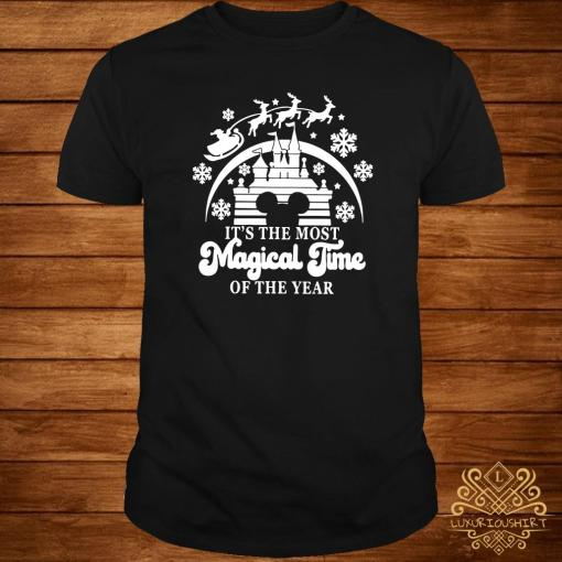 Disney Mickey Head It's The Most Magical Time Of The Year Shirt