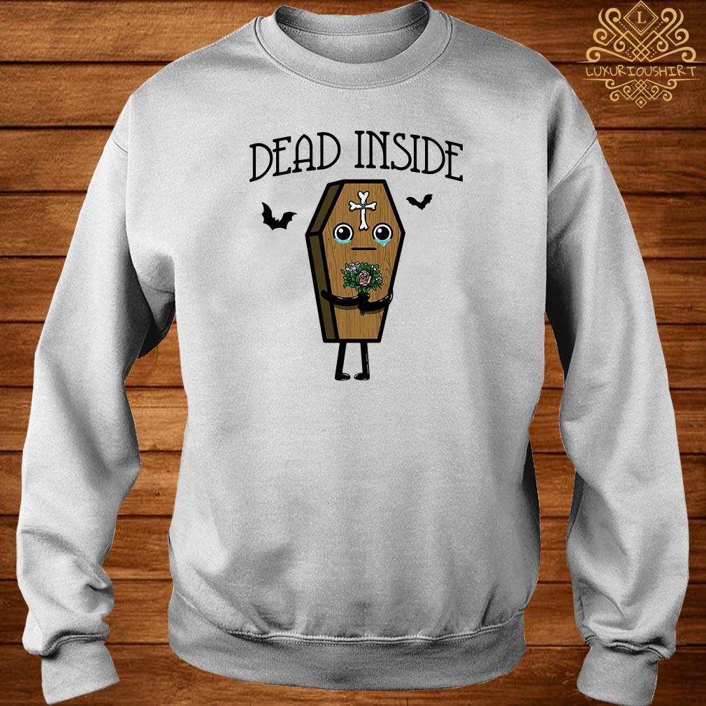 Halloween Coffin dead inside sweater