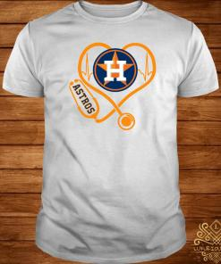 Heartbeat Nurse Love Houston Astros Shirt