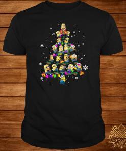Minion Christmas Tree Shirt
