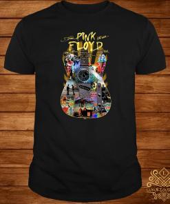 Pink Floyd guitar signatures shirt