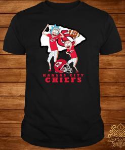 Rick And Morty Kansas City Chiefs Shirt