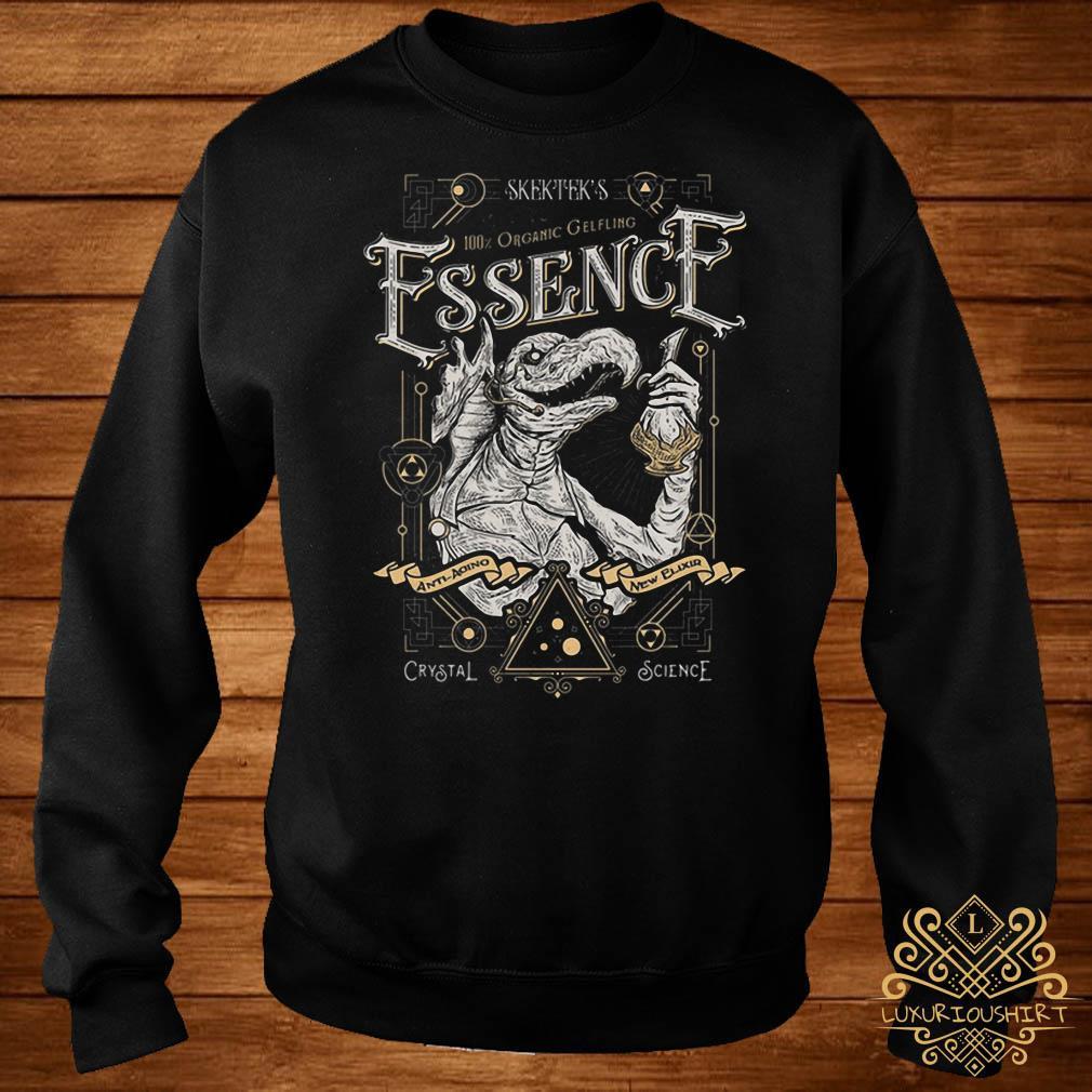 Skektek's 100% organic gelfling essence sweater