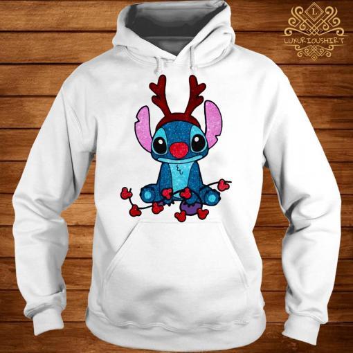 Stitch Diamond Christmas Hoodie
