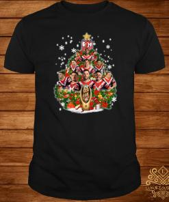 Sydney Roosters Players Christmas Tree Shirt