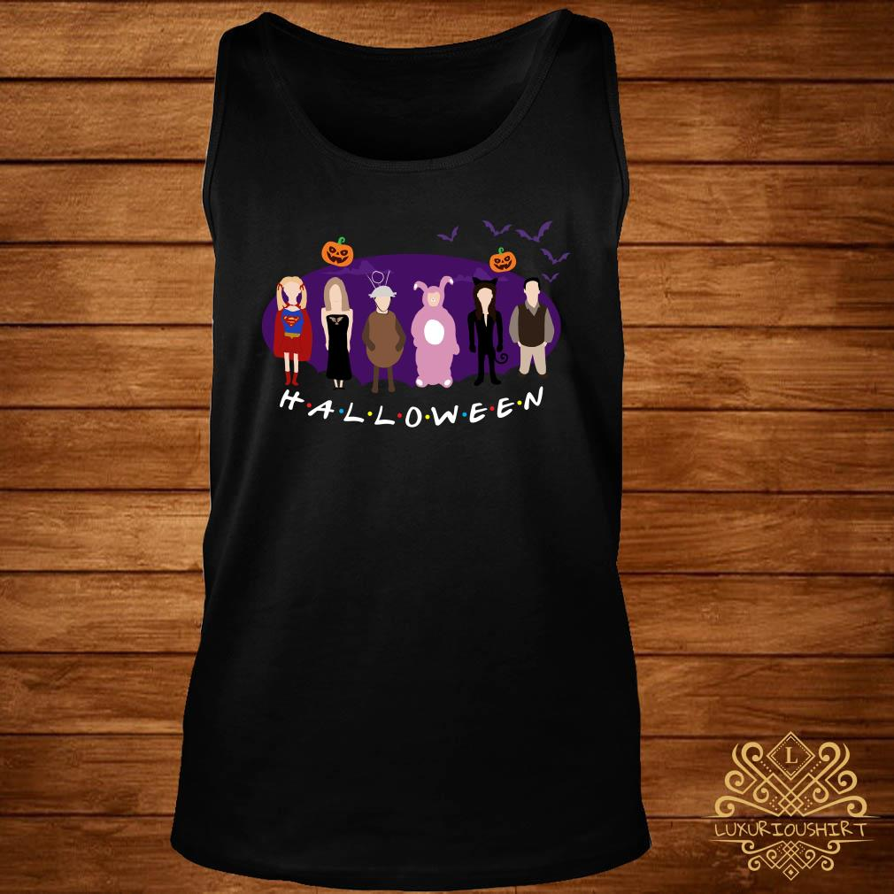 The One with the Halloween Party friends TV show tank-top