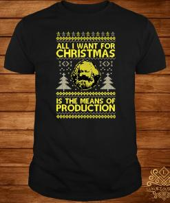 All I Want For Christmas Is The Means Of Production Ugly Christmas Sweater