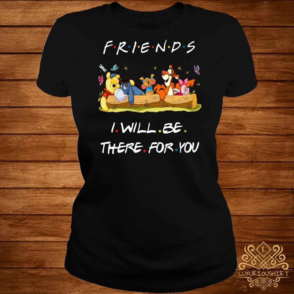 Winniepedia Friends I Will Be There For You ladies tee