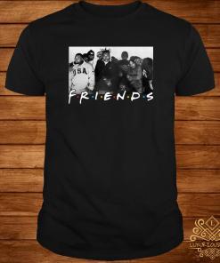 Wu-Tang Clan Friends TV show shirt