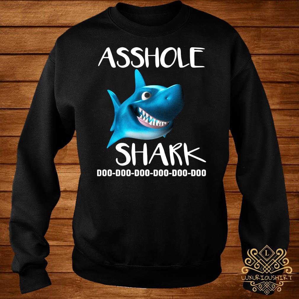 Asshole Shark Doo Doo Doo Sweater