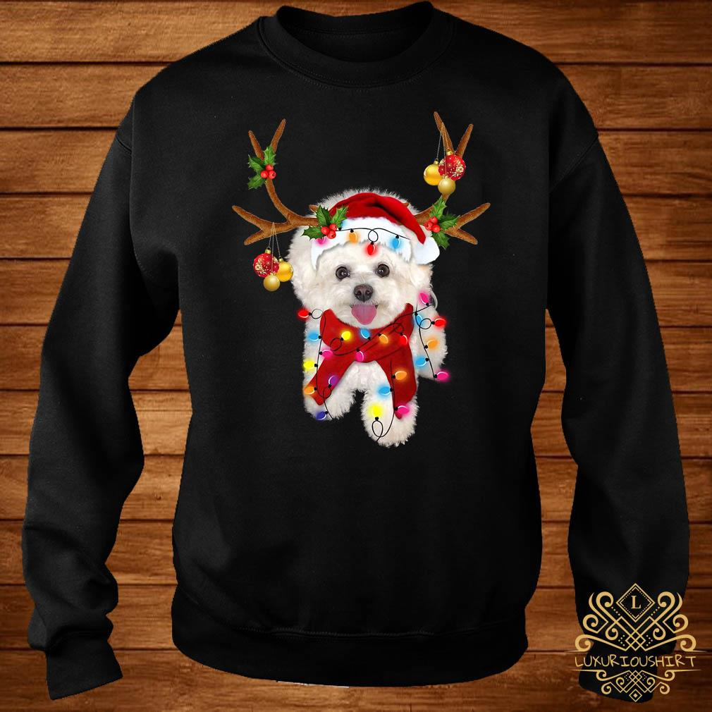 Bichon Frise Gorgeous Reindeer Christmas Sweater
