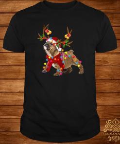 Bulldog Gorgeous Reindeer Light Christmas