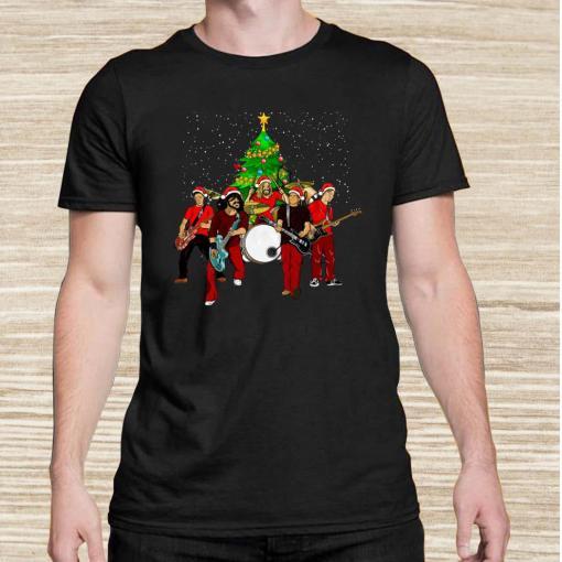 Foo Fighters Christmas Tree Unisex