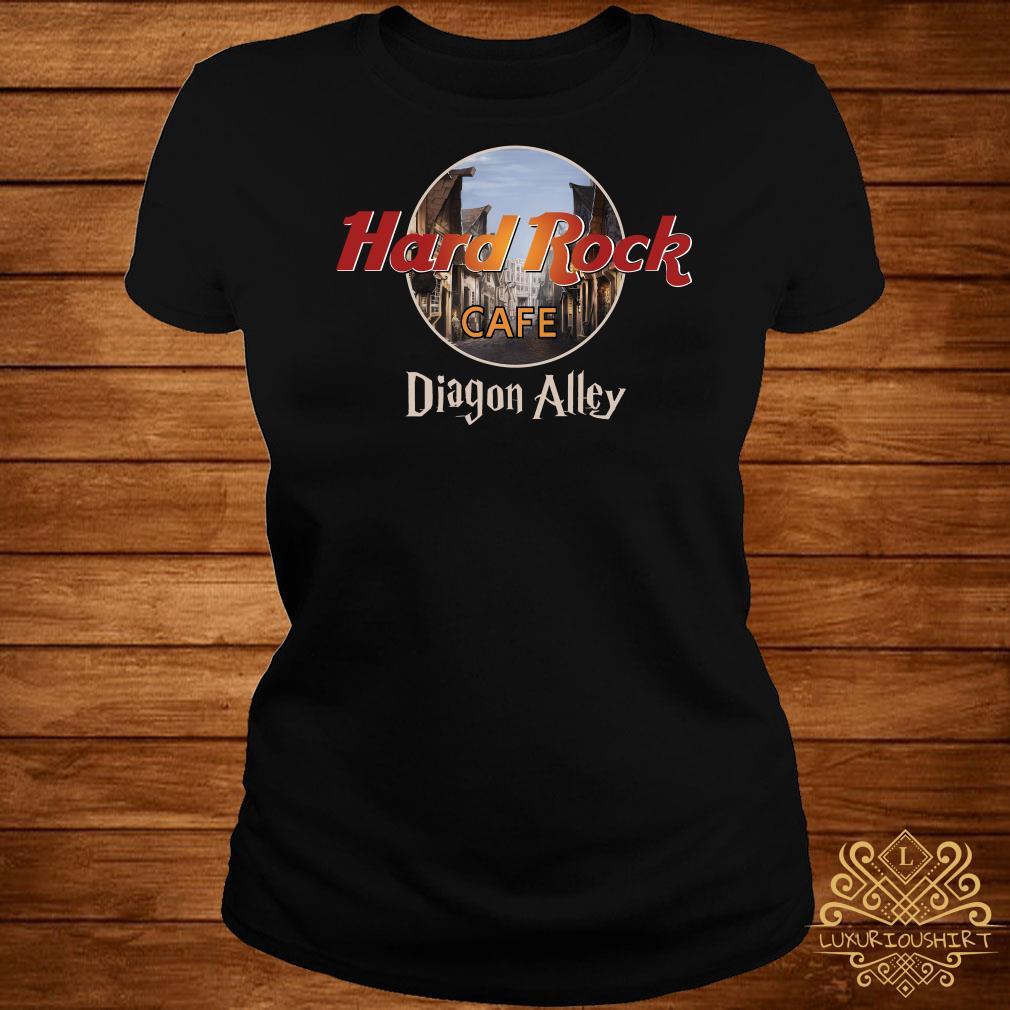 Hard Rock Cafe Diagon Alley ladies Tee