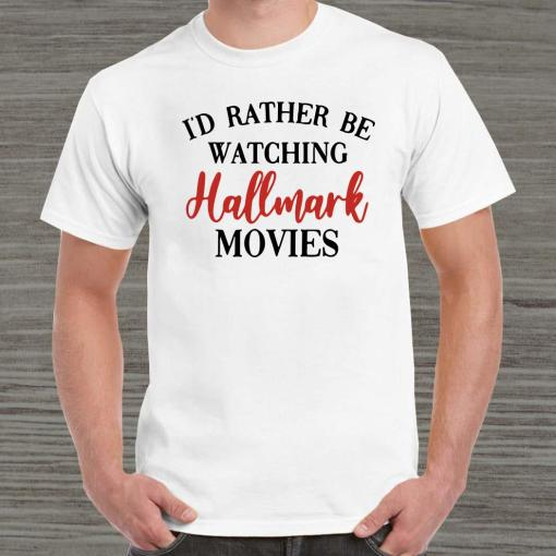 I'd Rather Be Watching Hallmark Movies Unisex