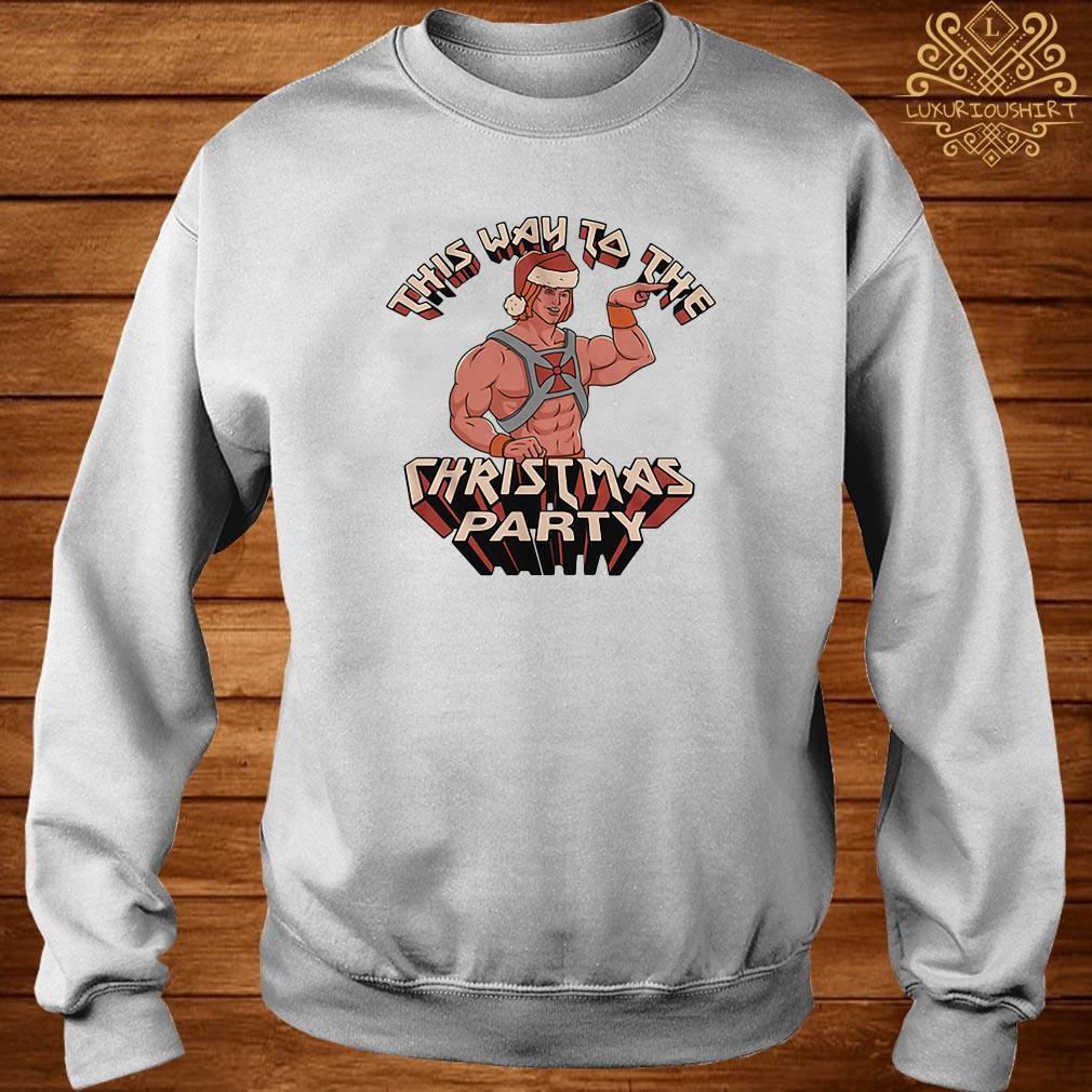 He-man This Way To The Christmas Party Sweater