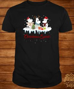 Moomins Christmas Spirit Shirt