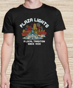 Plaza Lights A Local Tradition Since 1930 Unisex