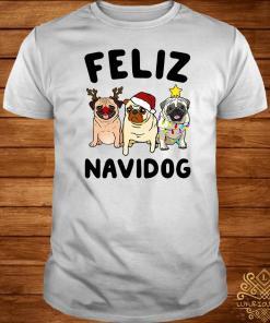 Pugs Feliz Navidog Christmas Shirt