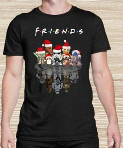 Star Wars Chibi Characters Water Reflection Mirror Friends Christmas Unisex