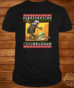 Star Wars Stormtrooper And Baby Yoda Christmas shirt