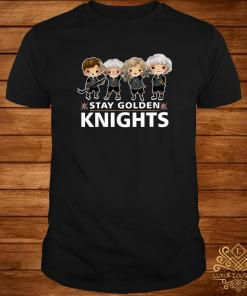 Vegas Golden Knights The Golden Girls Stay Golden Knights Shirt